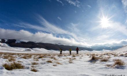 Monte Forciglieta d'inverno