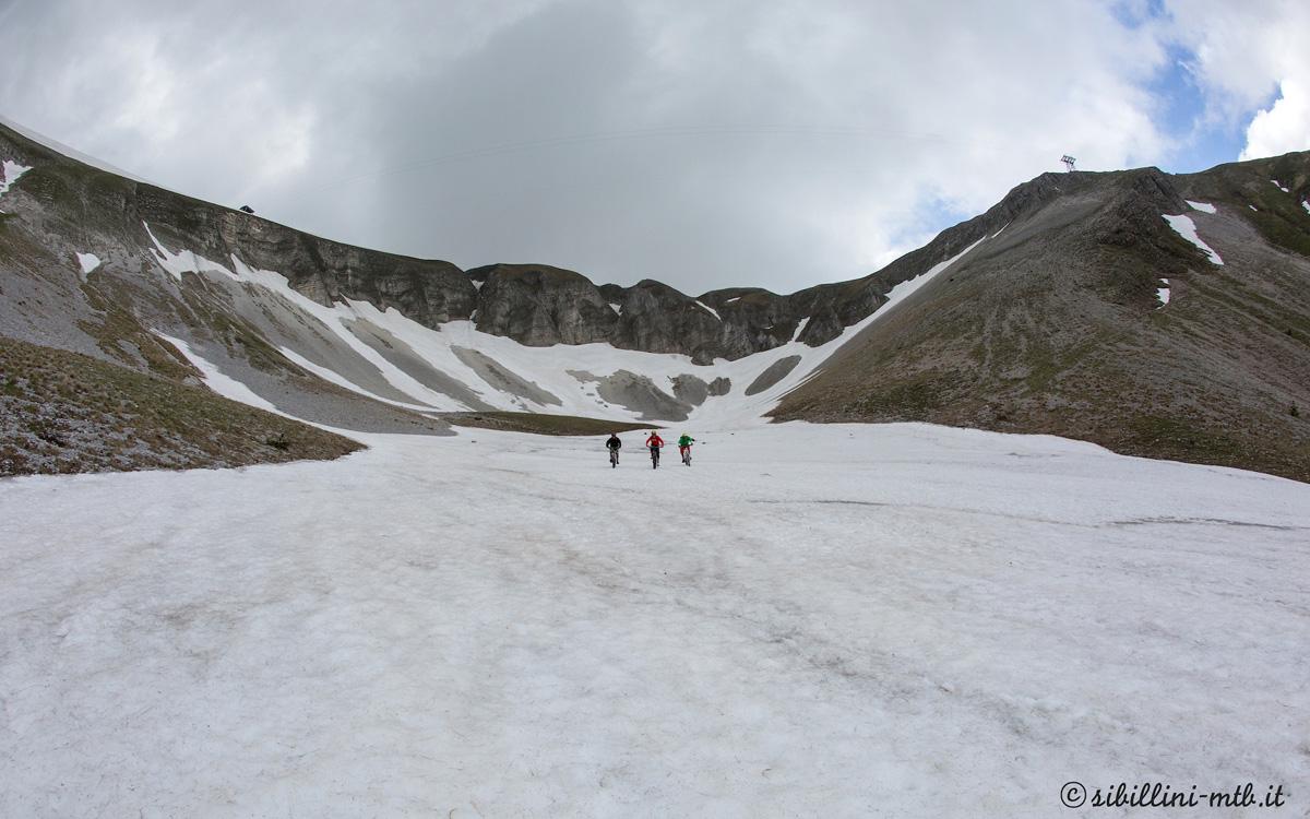Bike-ski in Val di Bove