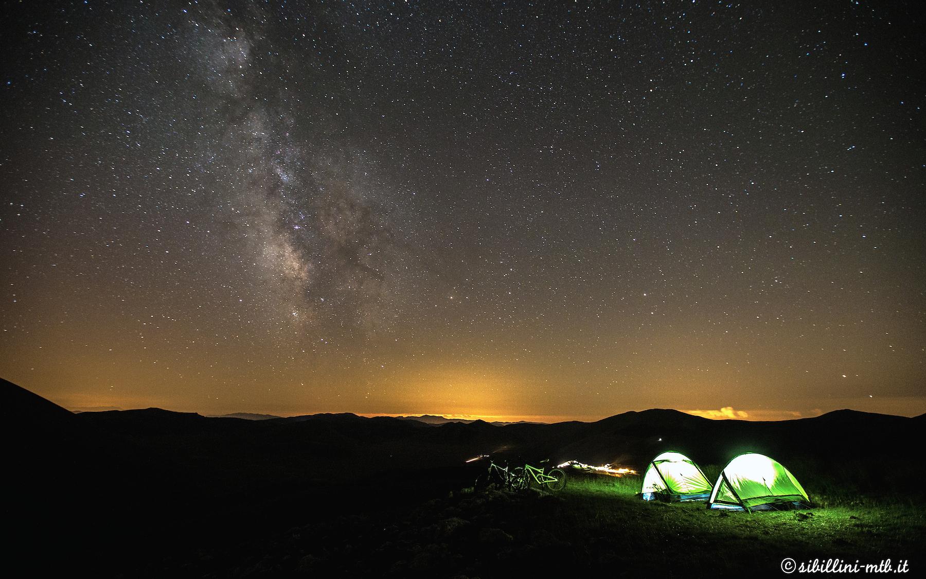 Una notte con la Via Lattea