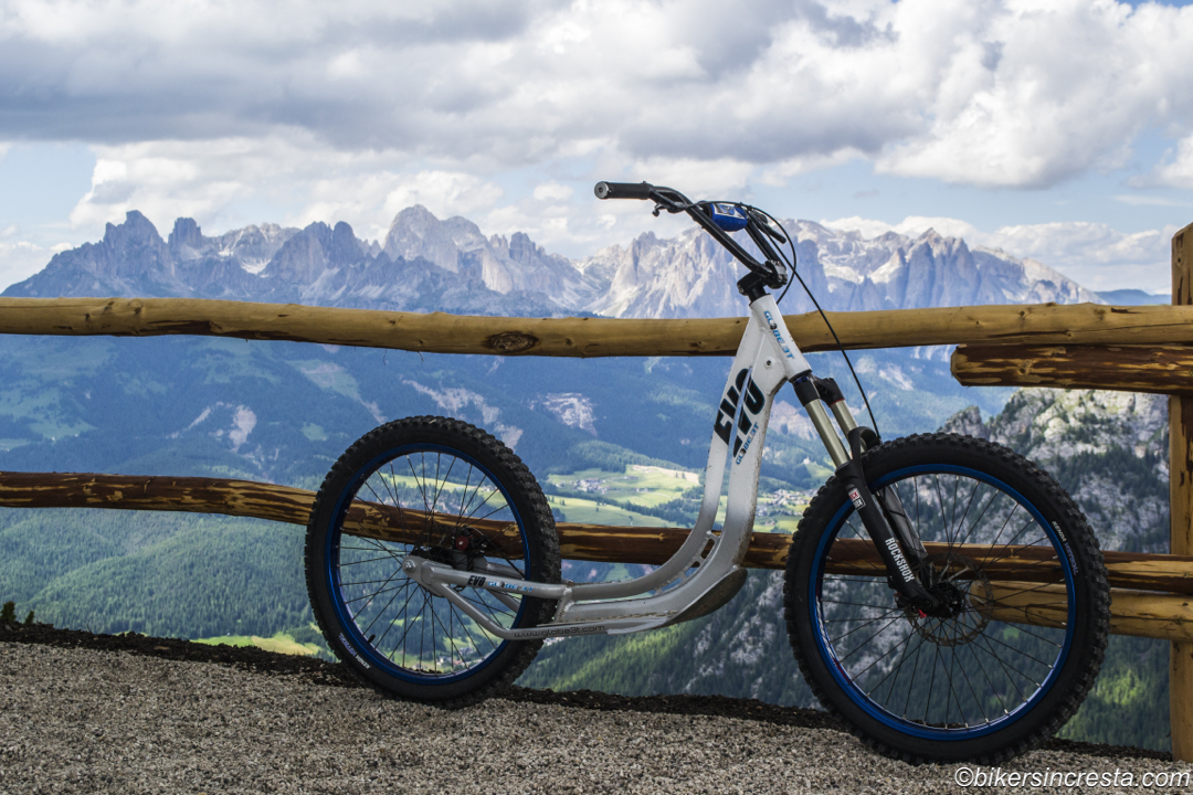 Scooter mtb – Alpe Lusia (TN)