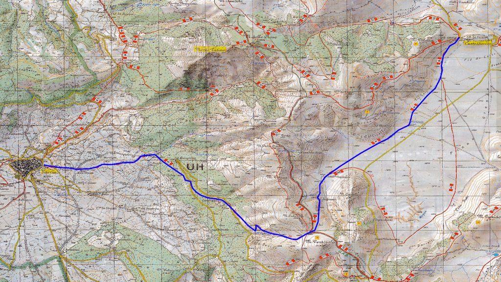 L'antico sentiero per Castelluccio